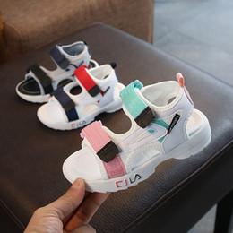 Designer enfants sandales chaussures enfants chaussures de sport doux respirant confortable bébé garçons filles garçons garçon plage sandale ? partir de fabricateur