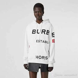 серая пара футболок Скидка 2019 Осень и Зима Новый bbr Luxury Fshion женская дизайнерская толстовка с капюшоном кофты с длинным рукавом высокого качества BUR Letter pattern с капюшоном p702.