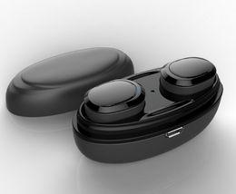 Nuova versione bluetooth online-2019 nuovo T12 TWS Twins Bluetooth auricolare senza fili con caricatore Dock auricolari Cuffie stereo 4.1 versione hot item by dhl