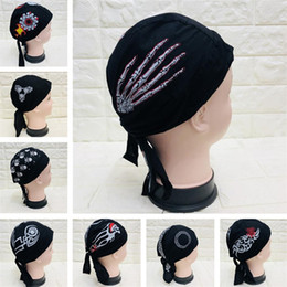 dc689ff16f7 2019 cappelli in nylon New style Pirate Hat Outdoor riding Hat Sports  Cappelli Halloween Ghost Head