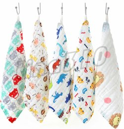 2019 toalhas de papel comprimido Hot Home Seis camadas de lavagem de alta densidade gaze toalha de banho Neonatal toalha de lavagem limpe crianças toalhas I503