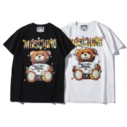 gente libre bolsas Rebajas 2019 nuevo diseñador de la marca de moda camiseta Hip Hop para hombre ropa casual camisetas casuales para hombres con letras impresas camiseta tamaño S-2XL