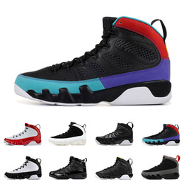 Taille de la statue en Ligne-2020 nouvelles chaussures de basket-ball 9s pour hommes de qualité supérieure Gym Red Dream It Do It STATUE COUNTDOWN PACK formateurs taille d'espadrille de sport 7-13