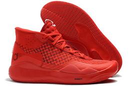 2019 мужские KD 12 детская баскетбольная обувь mvp черный белый серебро золото команда Красный Розовый Истеры kd 12 Кевин Дюрант XII кроссовки размер 40-46 от Поставщики кд мужская обувь белая