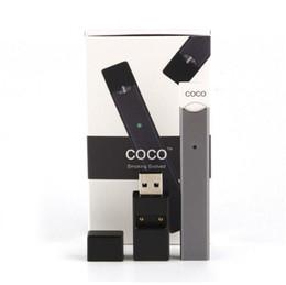 JUU V2 V3 COCO Buharlaştırıcı Başlangıç Kitleri 220 mAh Sigara Vape Kalem 4 Bölme paketi Ultra Taşınabilir Buhar Pod Kartuşları Atomiz ... nereden snoop dogg kuru bitki kitleri tedarikçiler