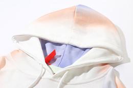 Nuevo Logo de Arrow Sudadera con capucha Street Sport Sudaderas con capucha para hombre Tie Dye Loose Fit Pullover Sudadera desde fabricantes