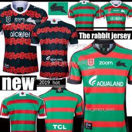 2020 camiseta de fútbol de australia Nuevo tailandés 2019 2020 Sur Sydney Rabbitohs camiseta de fútbol 18 19 20 ANZAC de rugby de los jerseys de la camisa de Australia camisetas de rugby camiseta de fútbol de australia baratos