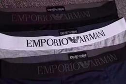 sous-vêtement pour homme Promotion Nouveaux modèles 2018 d'explosion modèles masculins de mode sous-vêtements pour hommes, plus un pantalon boxer confortable sous-vêtements sexy