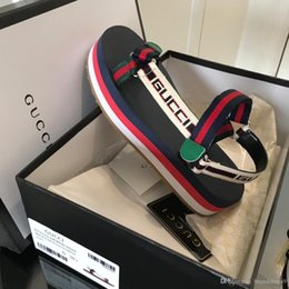 orteils chauds semelles souples Promotion 2019 Nouveau chaussures en cuir femme Sandales D'été Femmes Chaussures Peep-Toe Chaussures Bas Sandales Romaines Dames Tongs Sandalia Femina Mode