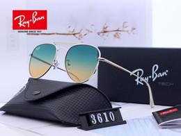 Explosionsgeschützte sonnenbrille online-2019 neuer klassische Herren-und Glas-Sonnenbrille der Frauen High-Definition-explosionsgeschützte Glaskasten voller Satz