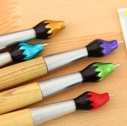 Brosses d'écriture en Ligne-2019 vente chaude brosse d'écriture stylo à bille noir 0.7mm fournitures scolaires noir balle stylo à bille école fournitures de bureau