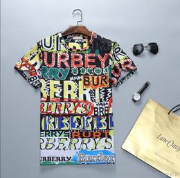 camisa alta do pescoço dos homens Desconto Mens Designer T Camisas de Alta Qualidade Casual Moda Algodão Em Torno Do Pescoço Camisa Designer Plus Size M-3XL