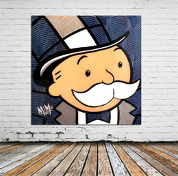 монопольное искусство Скидка Alec-monopoly-fullsizerender, Home Decor HD Печатная картина современного искусства на холсте (без рамки / в рамке)