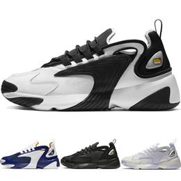 cheap for discount 49048 fd36d Novità Zoom 2K Scarpe da corsa Lifestyle uomo Bianco Nero Blu ZM 2000 Scarpe  da ginnastica stile Designer anni  90 M2K Scarpe comode e confortevoli  scarpe ...