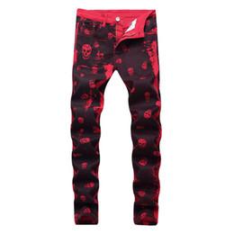 2019 pantaloni plaid rossi più il formato  sconti pantaloni plaid rossi più il formato