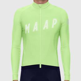 2019 manga larga Herbst Maap Langarm Radtrikot 2019 UCI Team Rennen Sweatshirt Herren Rennrad / Mountainbike Trikot Manga larga maglia ciclismo rabatt manga larga