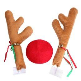 weihnachten fenster dekorationen Rabatt Weihnachtsfeier Spaß Auto Dekoration Spielzeug Windows Rentier Hirsch Elch Cerf Okapi