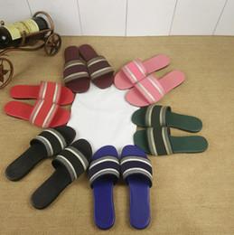 Designer Women Tongs DWAY sandales en coton brodé Diapositives Mode Femme Chaussures Pantoufles Superstar tongs KCQ209EKL_S16V avec boîte ? partir de fabricateur