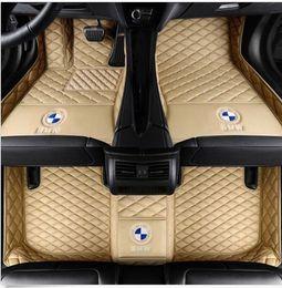 alfombras de piso bmw Rebajas Para BMW X5 G05 F15 E70 E53 2004 - 2019 Tapetes para el piso del coche Alfombras antideslizantes impermeables personalizadas a prueba de agua de lujo No tóxicas e inodoras