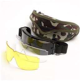 Товары на складе X800 Очки для тактической стрельбы Движение взрывозащищенная защита для атаки мотоциклетные очки Защита от ветра от Поставщики увеличительная линза