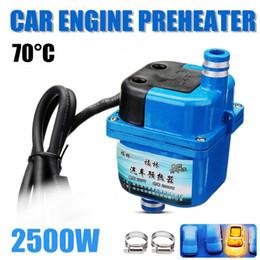 Calentador de aparcamiento webasto online-220V 2500W gas calentador del motor eléctrico webastos calefacción de estacionamiento DIESELES Parking aire Precalentador del refrigerante Calefacción