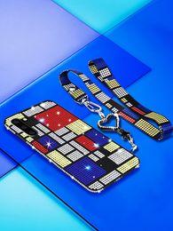Галантерейные стропы онлайн-Роскошная Блеск Rhinestone Мягкий чехол для Samsung Galaxy Note 10 Plus 9 8 S10 Plus S9 S8 A10 A20 A30 A50 A70 С талреп