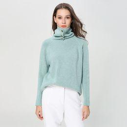 Canada Pop2019 High Lead Woman Épaississement Angora À Tricoter Modèle Européen Facile Ins Costume-Robe Pull Marée cheap easy knitting sweater Offre