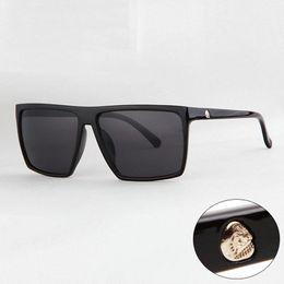 óculos de cor de crânio Desconto Atacado-Marca Steampunk Quadro Crânio Quadrado Masculino Óculos De Sol Dos Homens Muti Cor oversized Grande Óculos De Sol Para Homens Mulheres Óculos De Sol