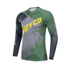 2019 conjuntos de jersey de ciclismo anti-bacterianos Quick Dry Ciclismo Roupa DH Downhill Jersey Mountain Bike Maillot BMX MX Roupa de bicicleta Moto Motocross Motorcycle T-shirt Top
