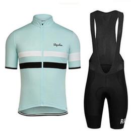 triatlón Rapha, camiseta de ciclismo de verano, 2019, equipo profesional, bicicleta de manga corta, conjunto de bicicletas de MTB. Pantalones cortos con peto. desde fabricantes