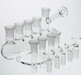 2019 новый рецикл bong Новый дизайн стеклянных водопроводных труб в сочетании с пятью гильзами из пяти чашек Встроенные кальяны Perc Recycle Нефтяные вышки Стеклянные трубки для водяных бонгов скидка новый рецикл bong
