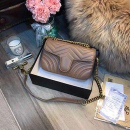 sacs à motifs Promotion Luxe Haute Qualité Mode Amour coeur Motif Cartable Designer Sac À Bandoulière Chaîne Sac À Main Bandoulière Bourse Lady Shopping Fourre-tout sacs