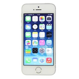Canada ROM déverrouillée d'origine pour iPhone 5S 16GB / 32GB / 64GB 4G Touch ID iCloud WIFI empreinte digitale IOS 12 Dual Core téléphone mobile supplier apple iphone 5s unlock Offre