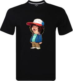 La camiseta de los hombres inspirados de Dustin Spoof Inspired Will Eleven Netflix TV Tee Divertido envío gratis Unisex Casual top desde fabricantes