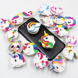 Bebes celulares online-Teléfono celular del unicornio / Flamenco / sirena del partido de goma Lazy Párese partido favorece Unicornio Decoración adultas de la fiesta de bienvenida al bebé