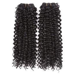 mehrfarbige haare gefärbt Rabatt Mode Multi-Color-Temperament Chemiefaser Hochtemperatur-Seide 14 Zoll Farbverlauf Haarverlängerung Haar Vorhang gefärbt
