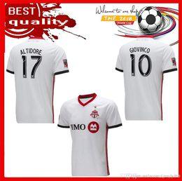 0e217e448e6d0 new Top quality 18 Toronto FC home Soccer Jersey 18 19 #10 GIOVINCO white  Soccer Shirt Customized OSORIO AL TIDORE MLS footbal uniform Sales