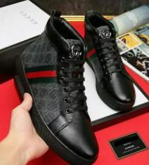 9257704c347 Top luxury Mens shoes The original designer perfect recovery Casual shoes  genuine Cow leather handmade Green red green belt Model 8079240