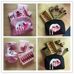 Amplificatore d'oro online-Makeup Cosmetic 20 birthday collection & Birthday gold collection 7pcs  set 8pcs  set gold edtion KL