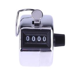 Цифры из нержавеющей счетчики профессиональный 4-значный ручной подсчет счетчик ручной ладони кликер номер подсчета Гольф LX4203 от