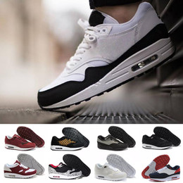 the best attitude 0cd56 5cb74 New Arrivel Free Shipping Famous 87 90 Ultra 1 Elephant Black Clear  Jade-White Mens Womens Running Shoes Sneakers Size 36-45