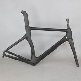 2019 vélo noir mat SERAPH nouvelle conception Aero toute la couleur noire Disque carbone cadre de vélo de route en fibre de carbone disque de course vélo cadre700c vélo TT-X3