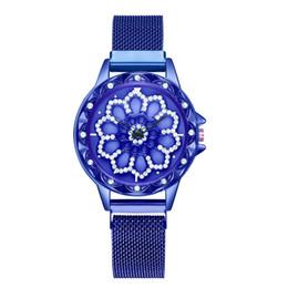Женские часы ремень онлайн-women watches  Fashion reloj mujer Full True Diamond Dial To Run Ladies Quartz Mesh Belt female watch bayan kol saati