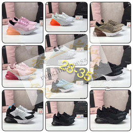 springs girls Coupons - 2019 270 Kids Children Running Shoes Wolf Grey 270s Toddler Black Sport Sneakers For Boy Girl Chaussures Pour Enfant