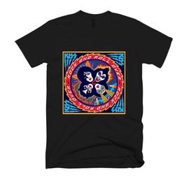 Faixa branca dos homens camisetas on-line-Beijar Banda Rock And Roll Over Homens / Mulheres Camiseta T dos homens orgulho t-shirt escuro branco preto cinza calças vermelhas tshirt