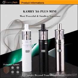 Kamry Ego AIO Vape Pen E-cigs Mini Kit sigaretta elettronica 1100mAh 1.8ml Atomizzatore Serbatoio Batteria All in One Kit vaporizzatore 510 thread da