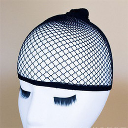 Parrucca elastica unisex calza parrucca cappuccio fodera in nylon elasticizzato tessitura a rete rete a rete da donna parrucca elastica tappi da costume sette fornitori