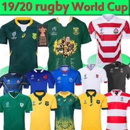 Copa do mundo japão on-line-África do Sul Japão Irlanda Copa do Mundo de Rugby jersey RWC Fiji Austrália Samoa Nova Zelândia jerseys NRL 2019 camisas Rugby League