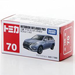 2019 bus jouet vert Takara Tomy Tomica 1/63 Mitsubishi Outlander PHEV Métal Miniature Voiture Modèle de Jouet Nouveau dans la Boîte # 70