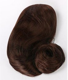 Perruques ondulées en Ligne-LIVRAISON GRATUITE + ++ Femmes Longs Bouclés Cheveux Ondulés Cosplay Perruques De Mode Cap Nouveau Parti Full Dark Brown